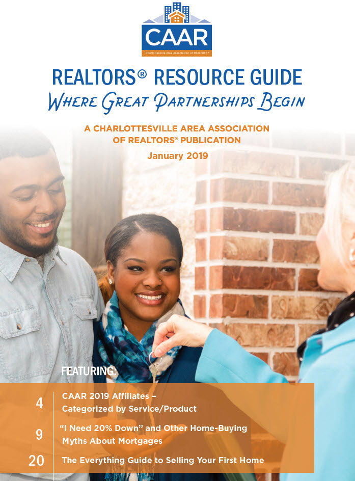CAAR 2019 REALTORS Resource Guide